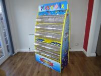 Hancocks Pick and Mix Stand display yellow frame
