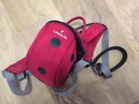 Little life rucksack and rein.Toddler backpack