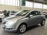 Vauxhall Corsa 1.4 i 16v SE 3dr (a/c) + HALF LEATHER TRIM +