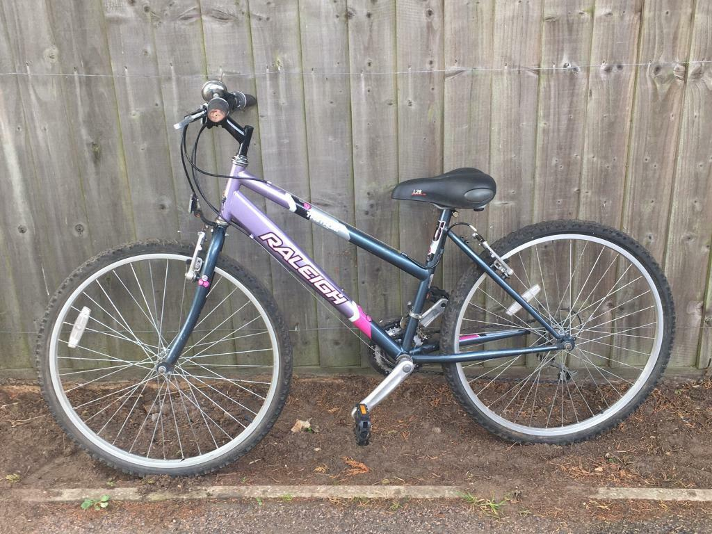 Second hand Raleigh Tantrum bike with bell included | in Aldeburgh, Suffolk | Gumtree