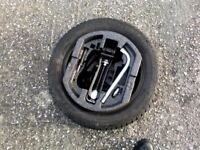 Skoda Fabia spare wheel and tyre