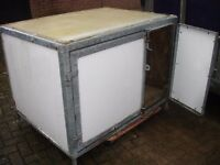 XXL GALVANISED INSULATED DOG BOX KENNEL