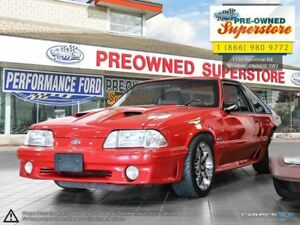 1992 Ford Mustang GT >>>EXTRA CLEAN! MANUAL, COUPE<<<