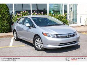 2012 Honda Civic LX (M5) *Prix révisé*Bluetooth*Climatisation*