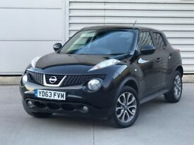 2013 63reg Nissan Juke 1.5 dCi Tekna 5dr***NAV/LEATHER/CAMERA**one owner**fsh