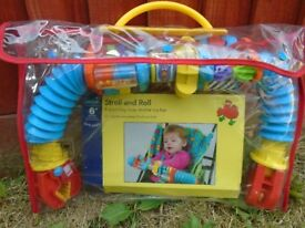 New STROLI & ROLL buggy toy bar