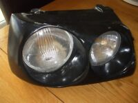 Renault Clio Mk1 Morette twin headlights with cold air intake