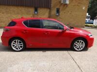 Lexus Ct 200h 200h Luxury 5dr (red) 2016