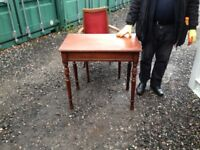 Old table mahogany £39 can deliver free local