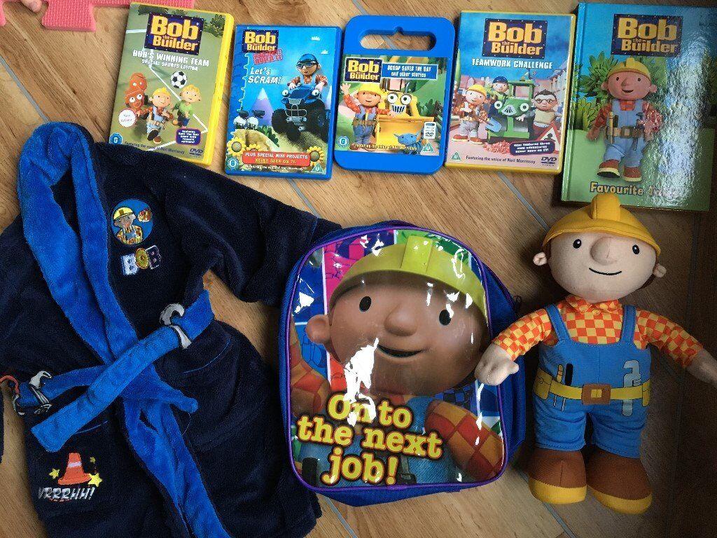 Bargain bundle of BOB the Builder items