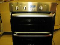 Hotpoint Integrated Double Oven, Excellent Condition.