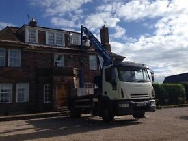 CHERRY PICKER HIRE WITH IPAF QUALIFIED OPERATORS. ALL TRADES CATERED FOR.