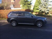2005 54 PLATE VOLVO XC90 D5 2.4 SE AWD AUTOMATIC 7 SEATER ESTATE GREY