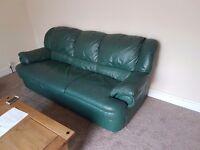 Free Used green sofa