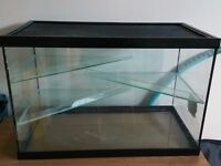 Large Glass Hamster Cage 61 x 31.5 x 40.5cm