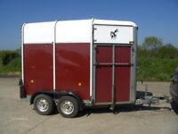 Ifor Williams 505 HUNTER Two Horse Trailer