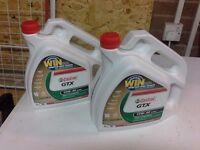 Castrol GTX Semi Synthetic Motorcycle oil, motorbike oil