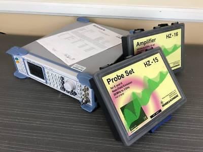 Rohde Schwarz Smb100a 100khz - 20ghz Signal Generator W B120 Hz-1516 Probes
