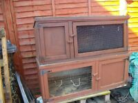 various rabbit hutches from 20 ono