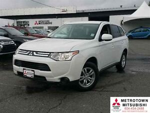 2014 Mitsubishi Outlander ES 4WD; Local, Mint