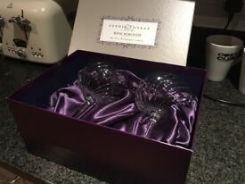 Royal Worcester Champagne Glasses