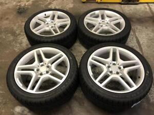 """20"""" Mercedes Wheels 5x112 and Winter Tire Package (MERCEDES SUV ML) Calgary Alberta Preview"""