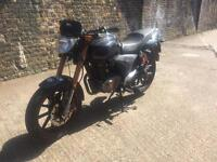 FULLY WORKING 2013 Keeway RVK 125cc learner legal 125 cc motorcycle with 1 years MOT.