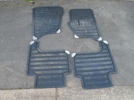 Genuine rubber car mats range rover sport