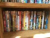 270+ DVDs mixed genres