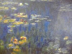 """Claude Monet """"Green Reflections"""" Painted 1920 Art Print Stratford Kitchener Area image 3"""