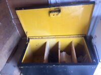 Van vault storage metal box
