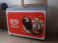 Wall's Vista 12 Ice Cream Display Freezer