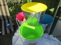 Wedding Decorations - Buckets