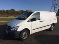 MERCEDES VITO 113 CDI LWB DIESEL 2013 63-REG FULL SERVICE HISTORY *AIR CONDITIONING* DRIVES LIKE NEW