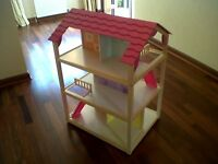 Grand Barbie Doll House ( with Furniture)
