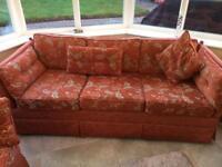 Sofa x 2 (3 seat, 2 seat)
