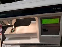SEWING MACHINE HUSQVARNA VIKING QUILT DESIGNER 2 & EMBROIDERY -SENSOR SYSTEM-P10 MODEL