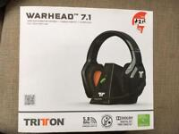 Tritton Warhead headset Xbox 360