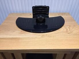 Black LG tv stand £5.00