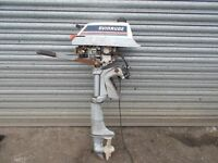 evinrude outboard 4hp engine spares or repair