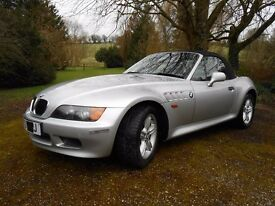 BMW Z3 Convertible 1.9 Manual (Petrol) 1999 (V Reg) Mileage: 65,875 (MOT Expires 17/03/2017))