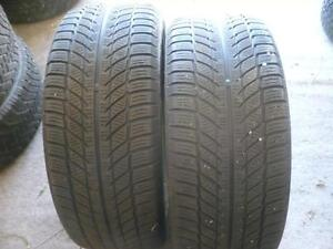 Two 225-50-17 snow tires   $90.00