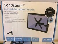 "Sandstrom Full Motion Easy Glide 32-47"" TV/LCD Wall Mount SFMGM14"