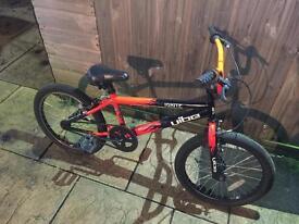 "Vibe Kids BMX. For child 7 & up, 20"" wheels. Serviced, free lights"