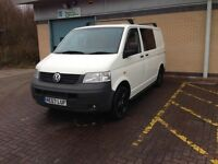 Volkswagen t5 campervan day bus brand new conversion 120000miles long mot recently serviced