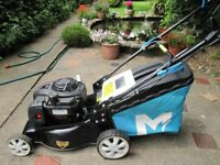 Petrol Briggs and Stratton 125cc immaculate lawn mower