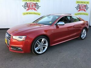 2014 Audi S5 Technik, Navigation, Leather, Sunroof, 66, 000km