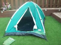 2 man tent lots of fading ok for kids in the garden or beach shelter, no rips or tears