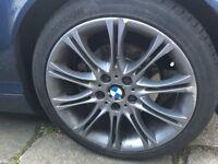 BMW MV2 E46 Sport Alloys 5x120 With Good Matching Hankook Tyres 225/40ZR18 255/35ZR18