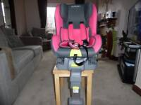 Pampero car seat Excellent condition 9 - 18 Kilo 9months to 4 years